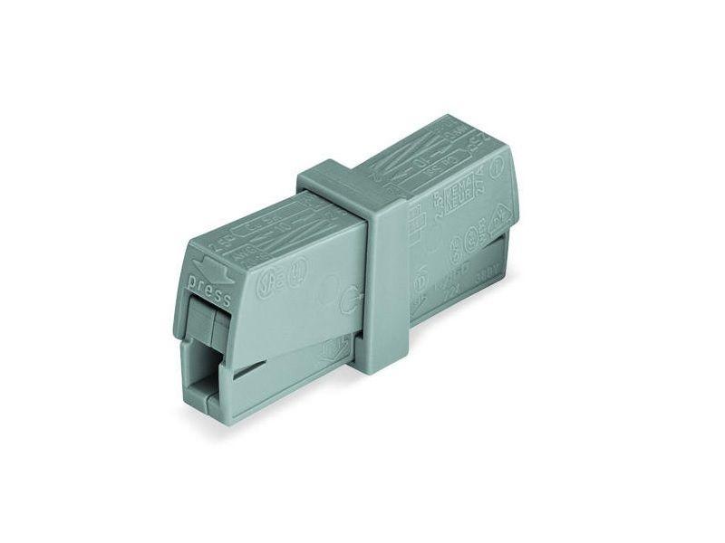 WAGO 224-201 KLEMA RASVETE 0,5-2,5mm 400V/4kV/2 24A SIVA