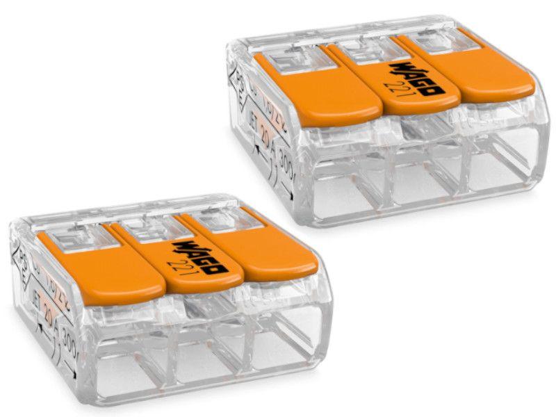 BR - WAGO 221-413 KLEMA SA POLUGOM 3x0,2-4mm 450V/4kV/2 32A 1/12