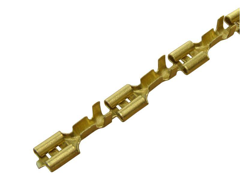 BUKSNA NEIZOLOVANA ŽENSKA 1 - 2,5mm2 6,3 MESING TK 1201.1
